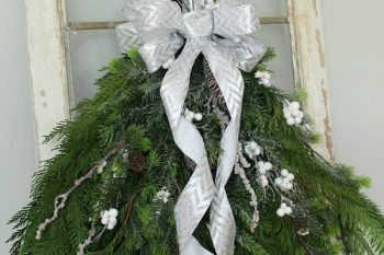 DIY Christmas Swag Wreath