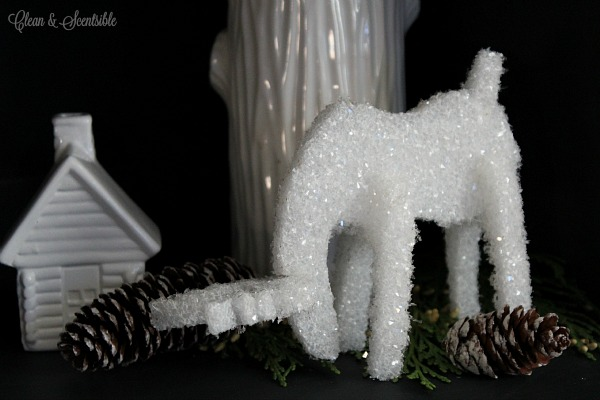 Make your own reindeer from foam! Love these!
