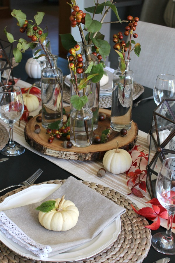 Tablescape Ideas thanksgiving tablescape ideas - clean and scentsible