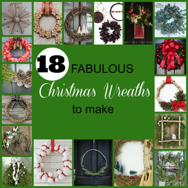 Beuatiful Christmas wreath ideas and inspiration.