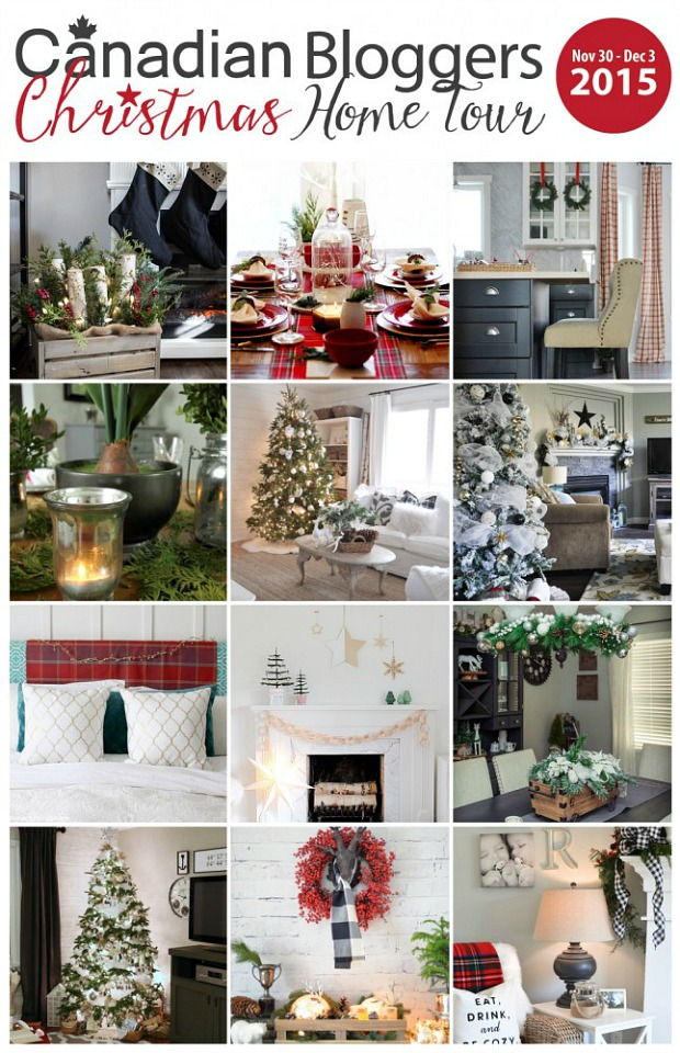 Beautiful collection of Christmas home tours. Lots of Christmas inspiration!