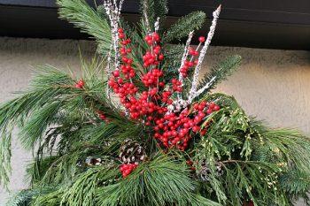 Christmas Hanging Baskets