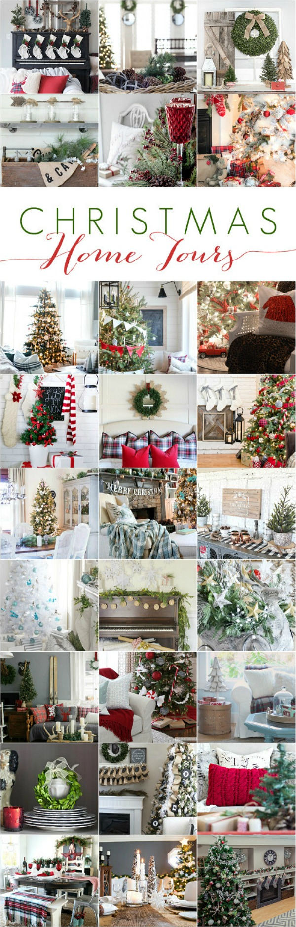 Country Living Christmas Home Tour Clean And Scentsible
