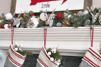 Wood Slat Christmas Sign
