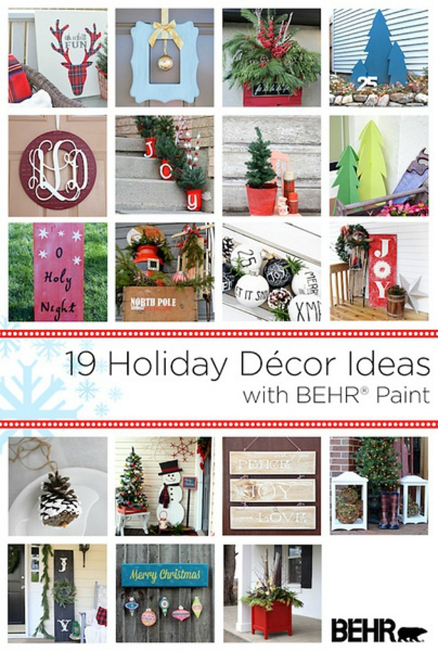 I love all of these outdoor Christmas DIY projects and decor ideas!