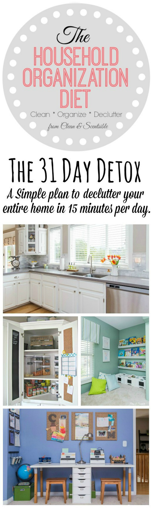 The 31 day household detox 2016 clean and scentsible The most organized home