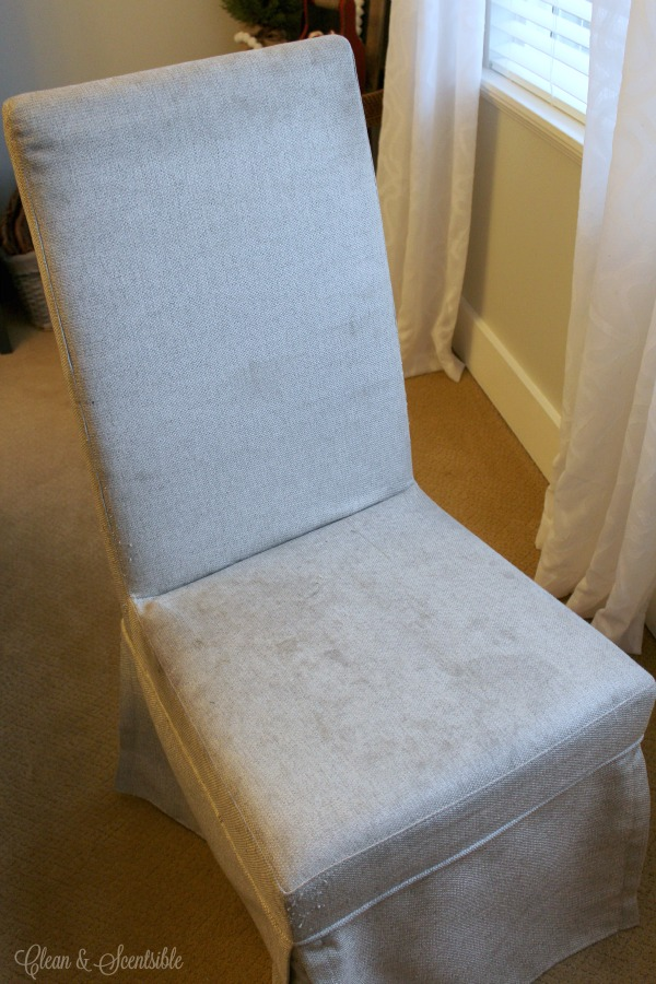 how to clean upholstered chairs clean and scentsible. Black Bedroom Furniture Sets. Home Design Ideas
