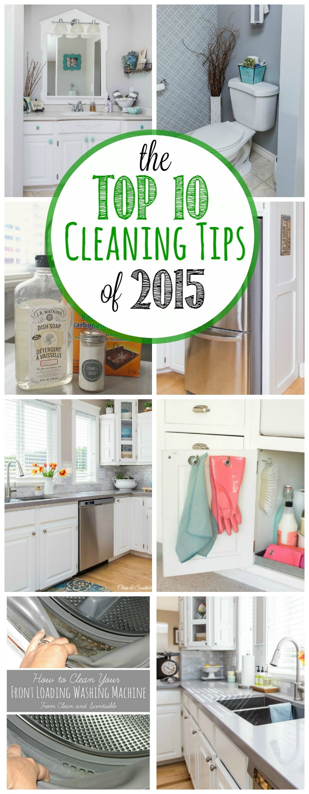 The Best Cleaning Tips From 2017 Tons Of Great Green Ideas And Tricks To