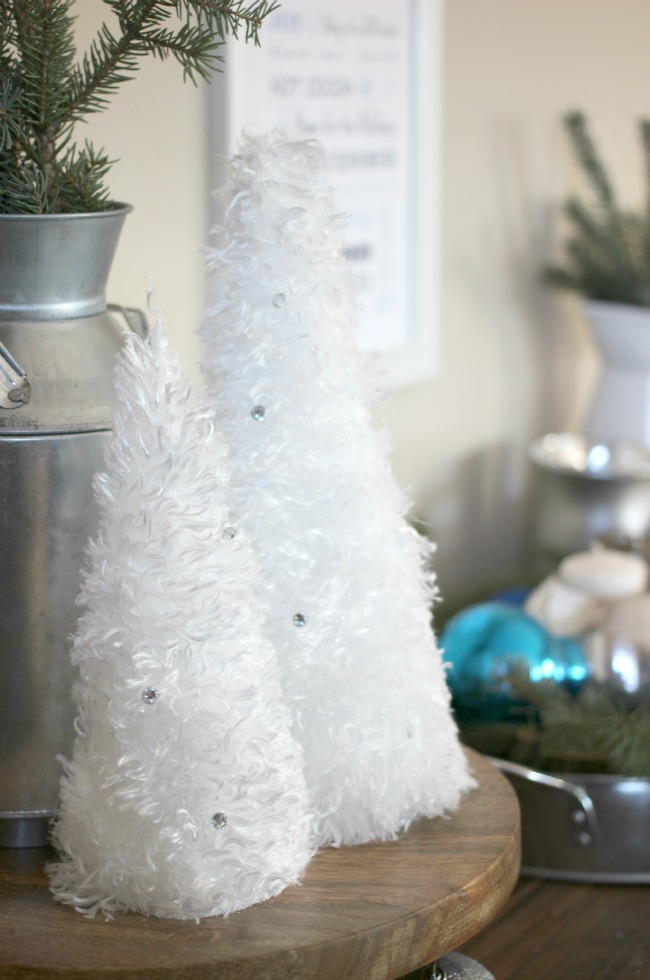Fleecy Soft Winter Trees