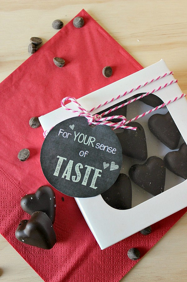 Make these delicious bacon chocolate hearts for a unique Valentine's Day gift!  A definite taste sensation that you have to try!