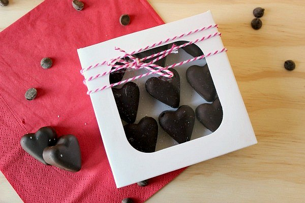 Bacon Chocolate Hearts, shared by Clean & Scentsible at the Clever Chicks Blog hop