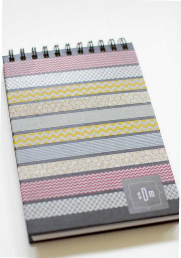 Easy Washi Tape Journal