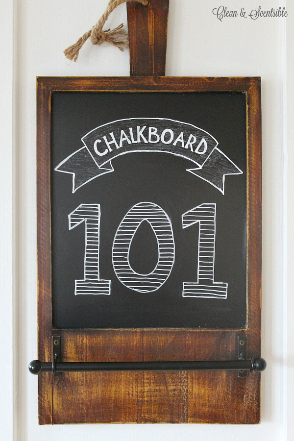 great tips for creating your own chalkboard art. Black Bedroom Furniture Sets. Home Design Ideas