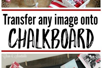 How to Transfer An Image Onto Chalkboard