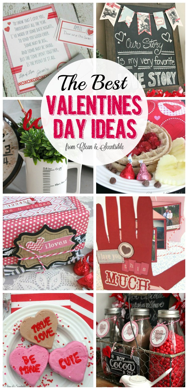 Great collection of Valentine's Day projects - recipes, decor, crafts and more!