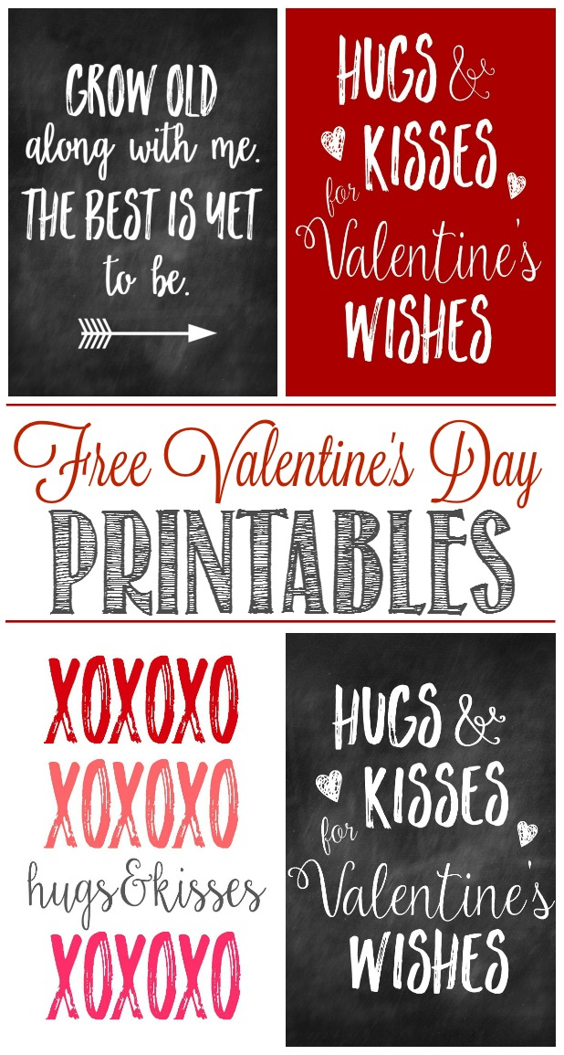 Great Collection Of Free Valentineu0027s Day Printables And Some Cute Ways To  Display Them For Some