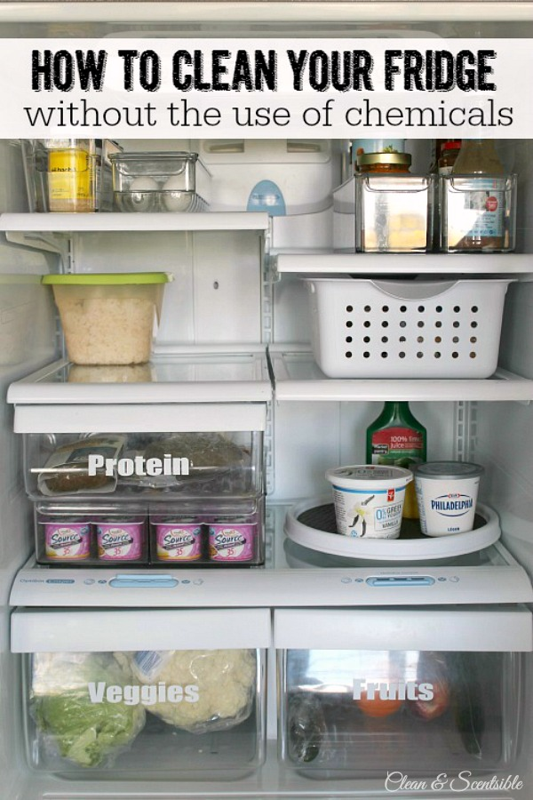 Great tips on cleaning and organizing the fridge!
