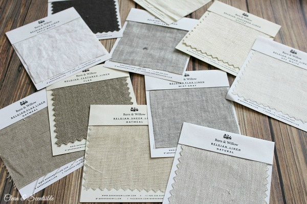 Get up to 5 free drapery swatches from Barn and Willow.