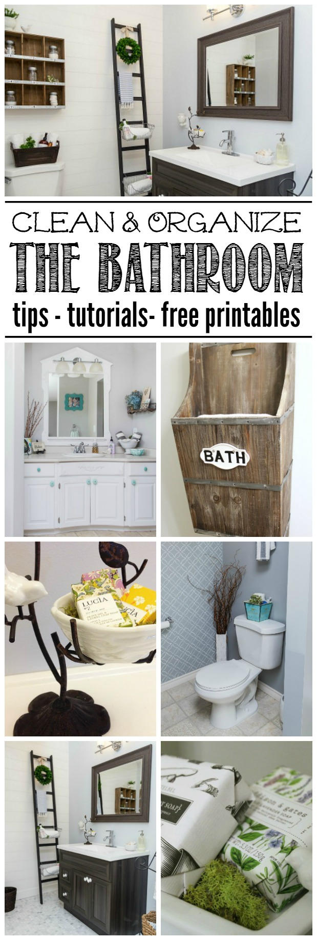Bathroom Cleaning And Organization Ideas
