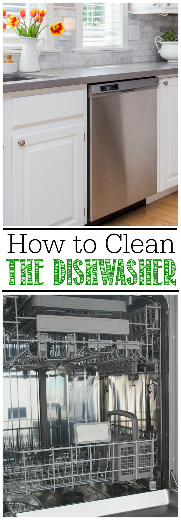 Great tutorial on how to clean a dishwasher. Lots of little places I didn't know I had to clean!