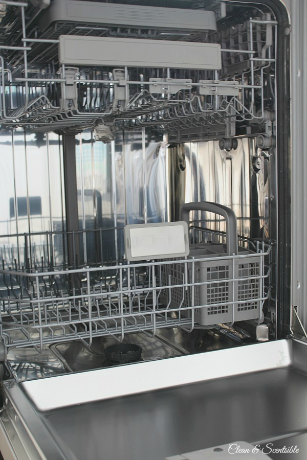 Great tutorial on how to clean a dishwasher. Lots of little places I didn't know to clean!