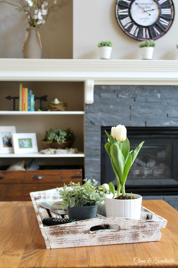 Living Room Spring Home Tour