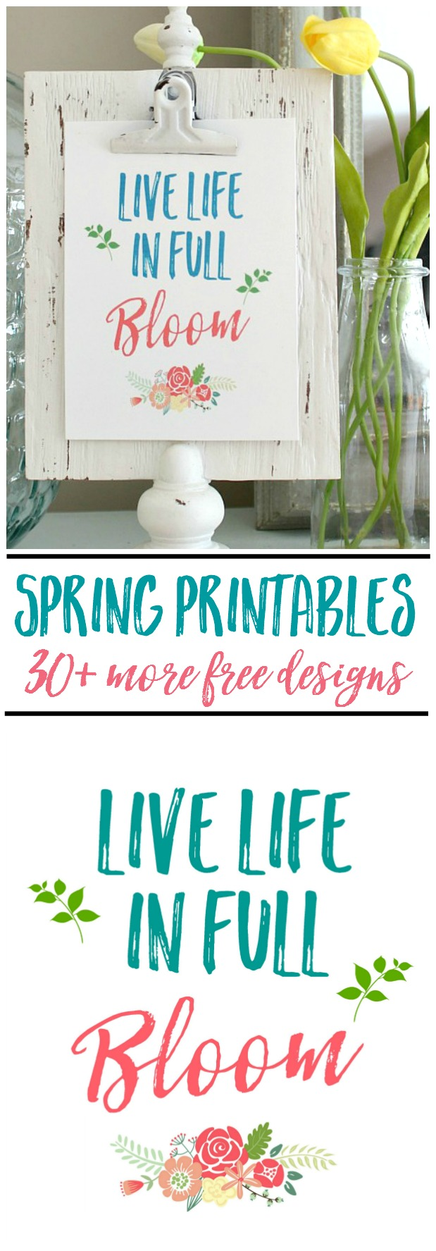 photo about Spring Printable known as No cost Spring Printables and Vignette - New and Scentsible