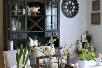 Spring and Easter Tablescape