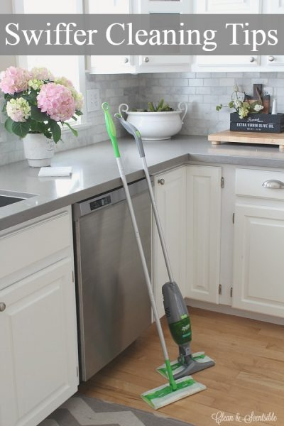 Swiffer cleaning hacks and tips to get the most out of your Swiffer and save you money.