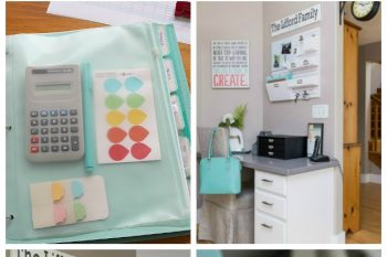 Home Office Organization {April HOD}
