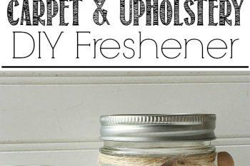 DIY Carpet and Upholstery Freshener