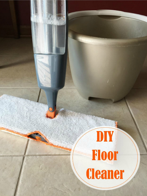 DIY Tile and Linoleum Cleaner