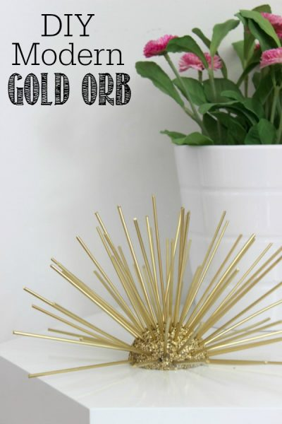 Decorative Gold Orb