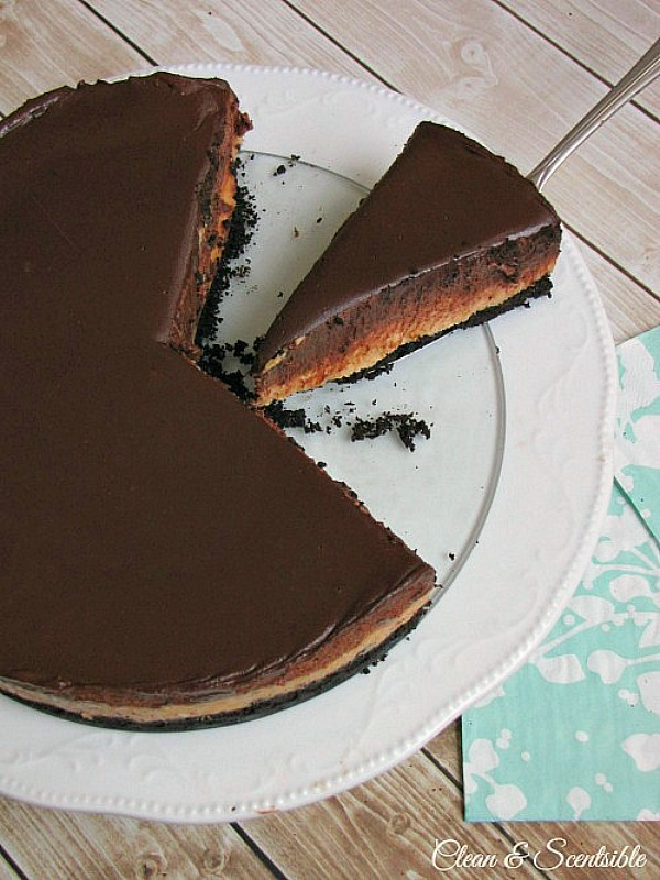 You must try this chocolate peanut butter mousse cheesecake recipe! The ultimate dessert!