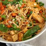 Thai Curry and Peanut Noodles