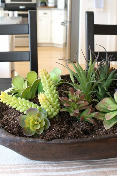 Dough Bowl Succulent Planter