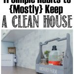 11 Daily Habits to Keep a House Clean and Tidy