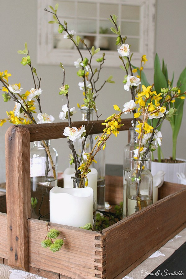Spring and Easter Tablescape 5