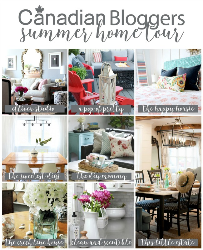 Beautiful summer home tours and decor inspiration.