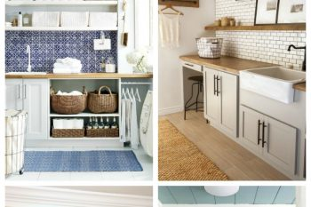 How to Organize the Laundry Room {June HOD}