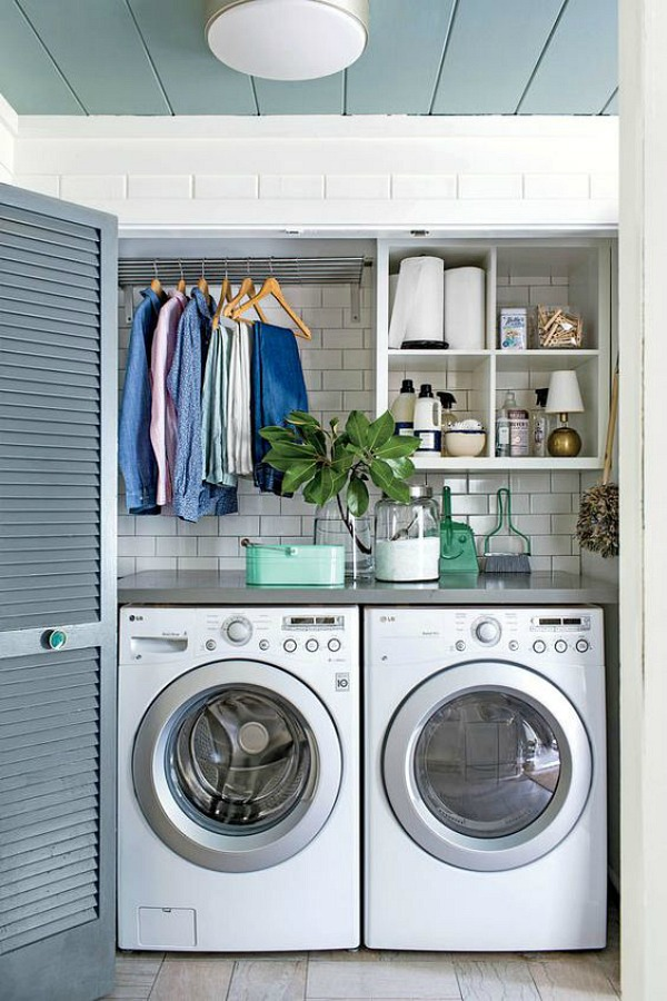 How to organize the laundry room clean and scentsible for Free room design help