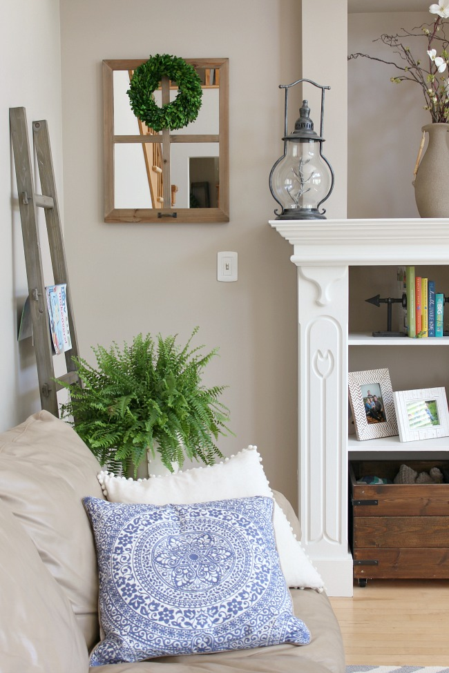 Summer Decor summer home tour - 2016 - clean and scentsible