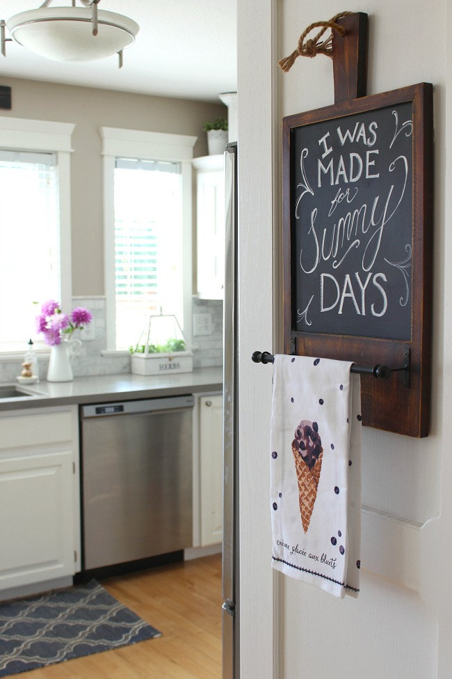 Beautiful simple summer home tour.