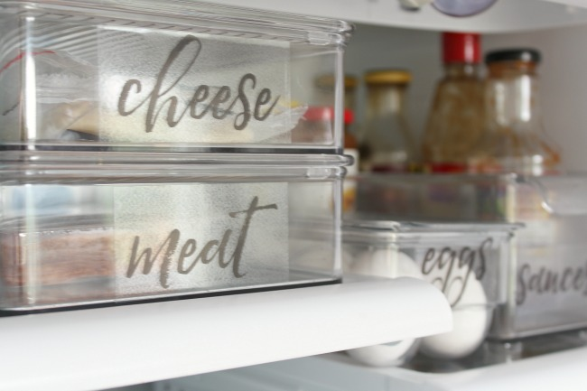 graphic relating to Printable Freezer Labels called Absolutely free Printable Refrigerator Labels - Fresh and Scentsible