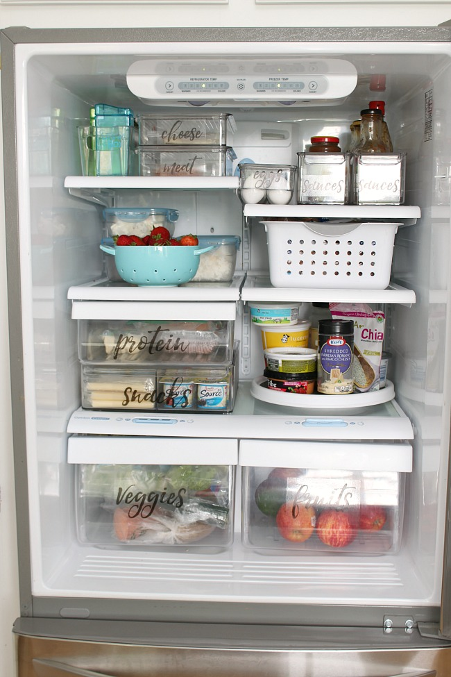 Free Printable Fridge Labels - Clean and Scentsible