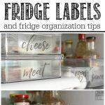 Free Printable Fridge Labels