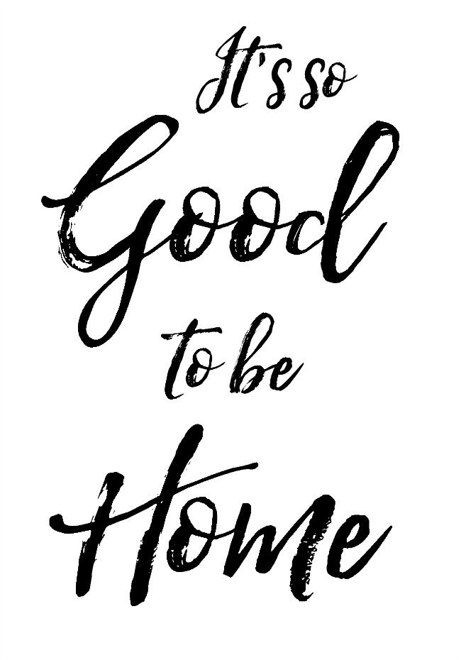 Free home printable. Perfect for the front entry or for a housewarming gift idea!