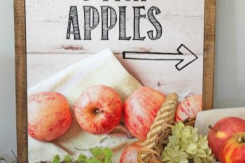 Apple Picking Fall Printable