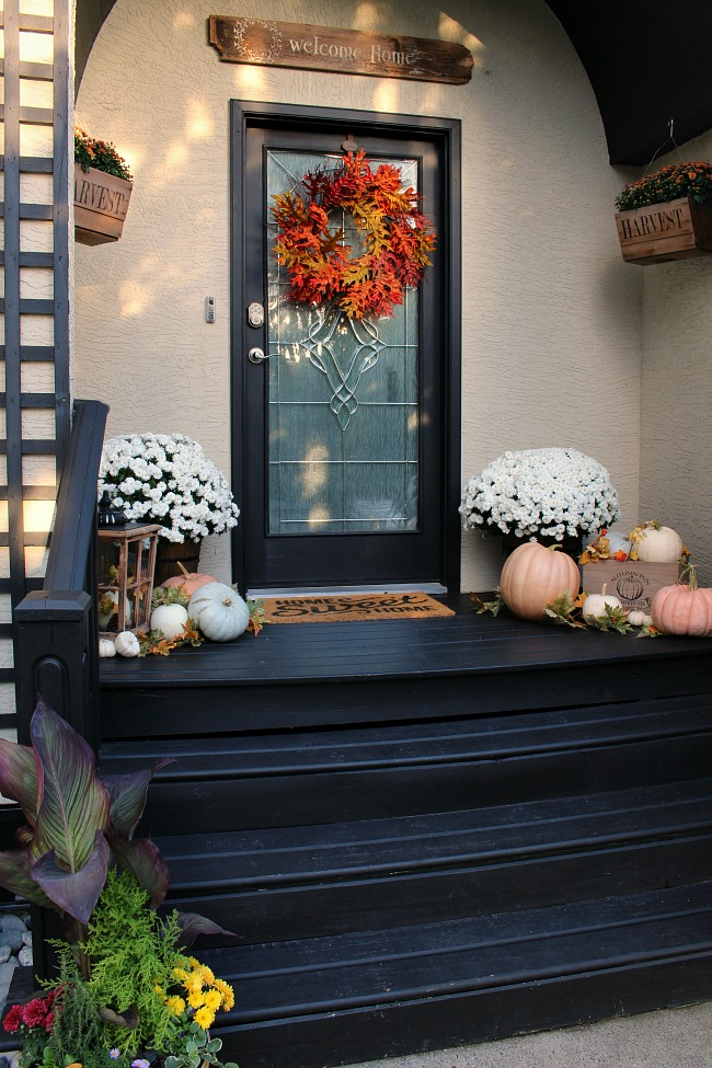 Fall Front Porch Clean And Scentsible