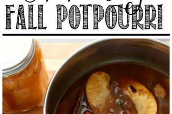 Fall Simmering Potpourri Recipes
